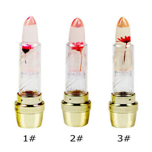 Magic Jelly Flowers Lipstick Color Changing Lasting Long Lip Gloss ...