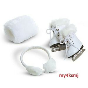 American Girl Snowy Earmuffs MYAG NIB Lanie Julie Molly Kit Ear Muffs