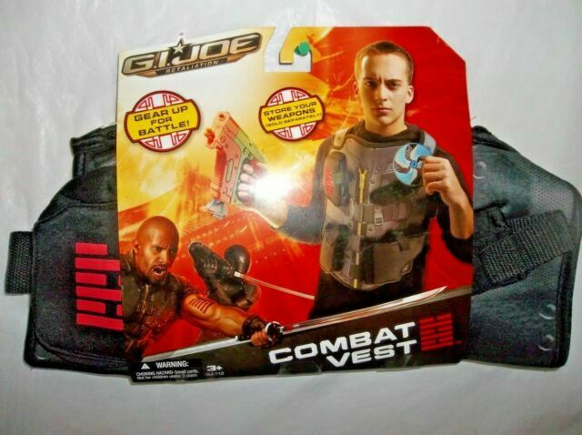 Hasbro G.I Joe Retaliation Cloth Combat Vest Brand New Unopened Package 3+
