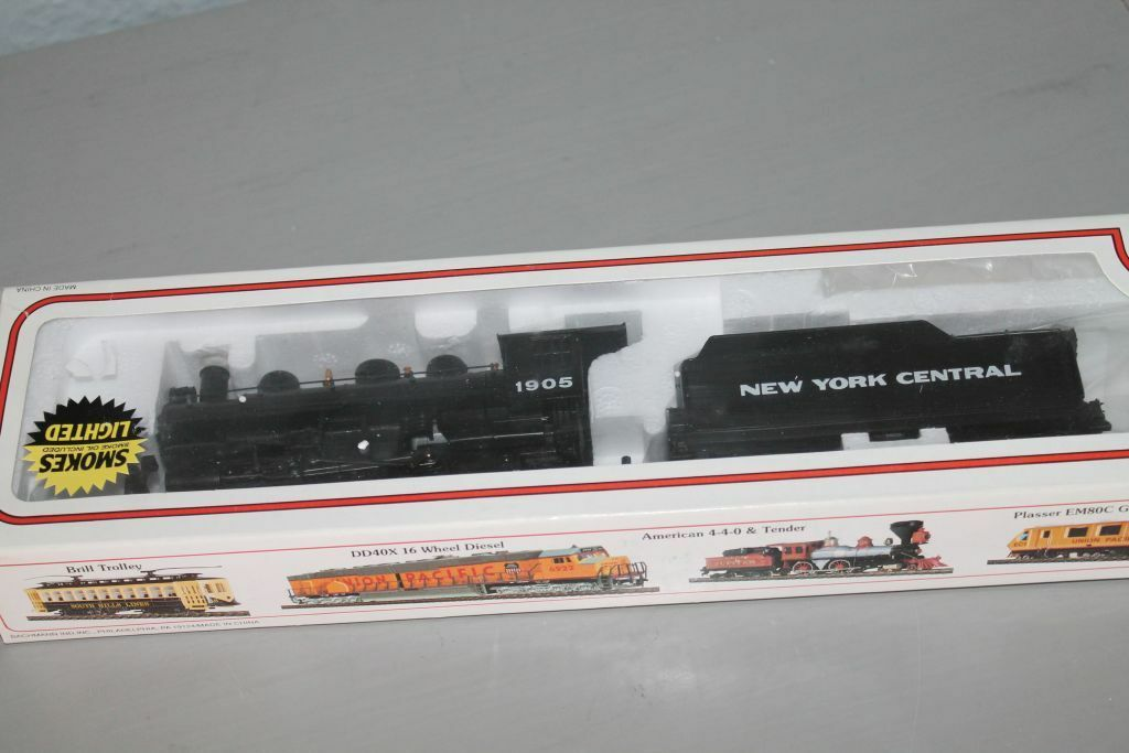 Bachmann h0 * 2-6-2 Prairie Locomotiva & TENDER * Nuovo York Central * MINT & OVP