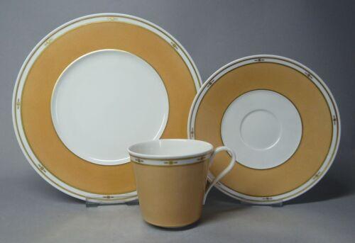 g4192 /'Urania/' KPM Berlin 3 pezzi caffè posto a tavola Trude Petri archivia sabbia colori