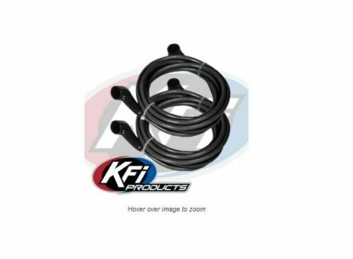 Two 11/' Battery Cables Crew RZR-4 Mule KFI UTV Winch Wire Extension Kit