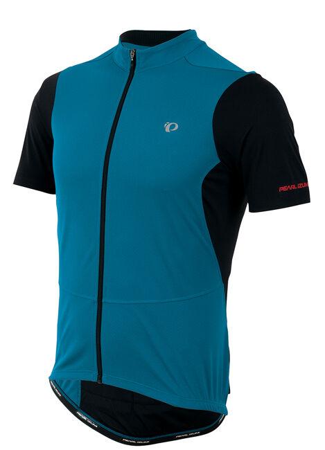 Pearl Izumi Attack Full Zip de Ciclismo Bicicleta Ciclismo Camiseta MYKONOS azul negro - 2XL
