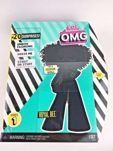 "LOL OMG Fashion Doll 11/"" Royal Bee Curly Hair Series 1 BNIB Ready To Ship"