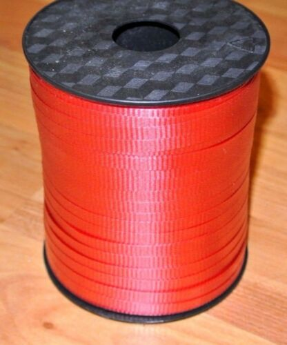 NEW RED Curling Ribbon 500 yards 3//16 Gift Wrapping Balloons 1500 FEET Party