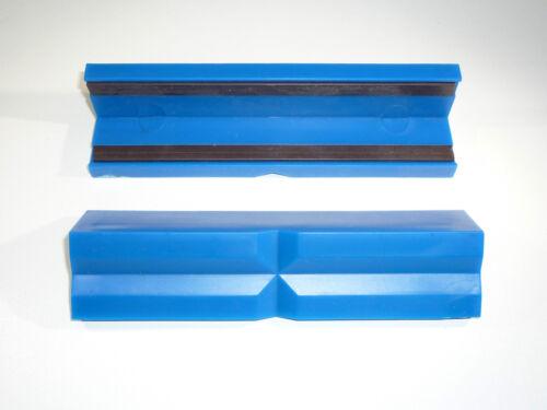 Étau protection mors 125mm plastique déjà mors avec aimant de serrage-Mâchoires