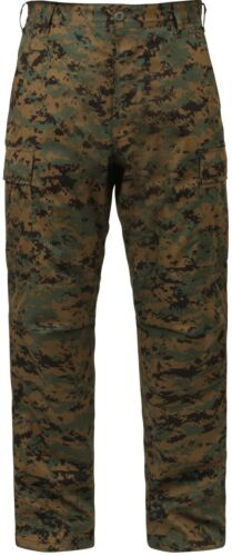 Military Type Tactical Camo Camouflage BDU Cargo Pants