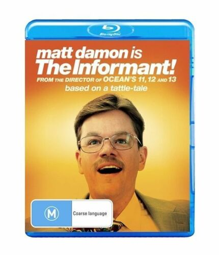 1 of 1 -  The Informant! (Blu-ray movie, 2010) Matt Damon Region B AUS
