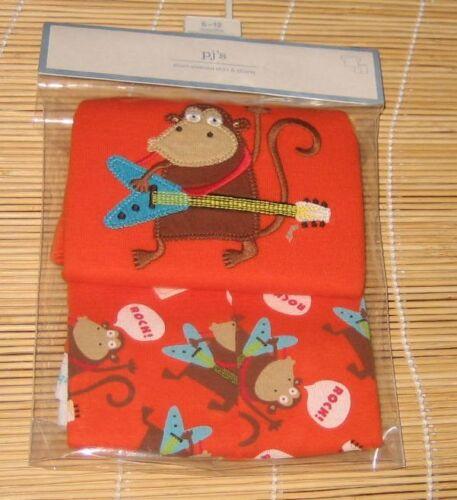 Baby Gap Short Pajamas Monkey Guitar 12-18 Months 2T