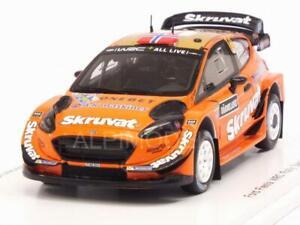SOLBERG MENKERUD spark 1:43 s5968 England Ford Fiesta WRC #14 Rally Suede 2018 H