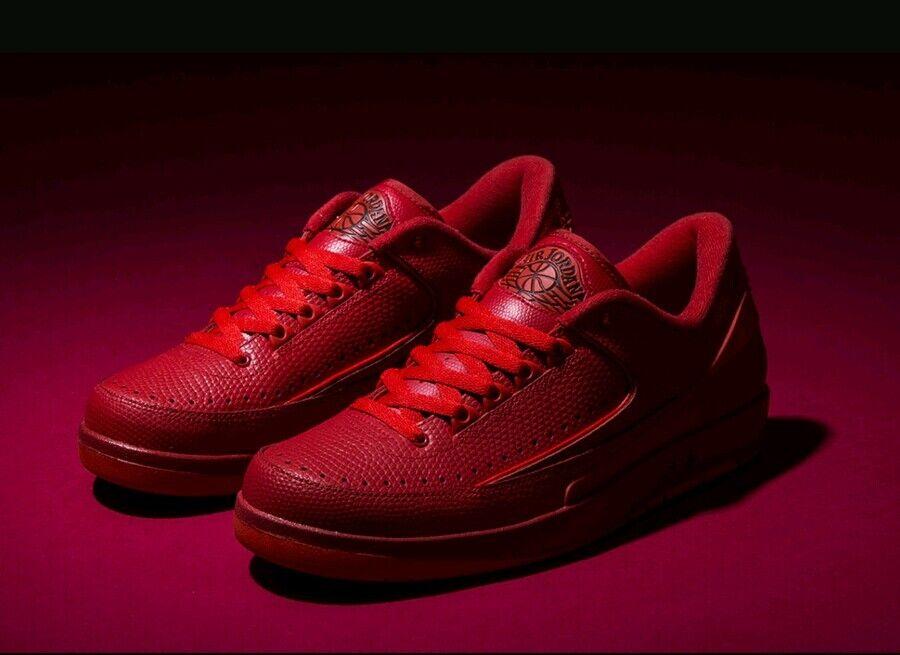Nike Jordan 2 Retro bajo tamaño Air 13 Reino Caja Unido Nuevo Y en Caja Reino Auténtico Genuino Rojo 2018 5 6 3 b7e4be