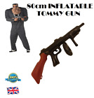 80cm INFLATABLE TOMMY GUN Blow Up Gun Party Novelty Mens Gangster Fancy Dress