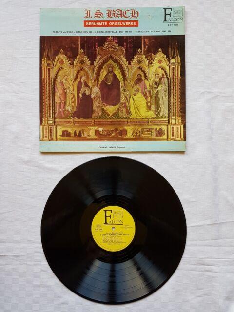 Bach: Berühmte Orgelwerke. Vinyl LP.