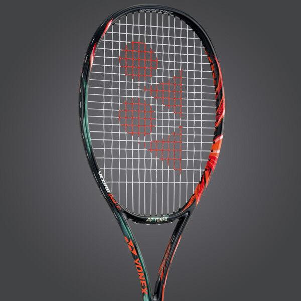 Yonex Tennis Racquet Vcore Duel G 100 G2 More Flex Power Heavy Spin, UNSTRUNG