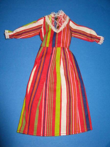 (239) Vecchia Lungo Camicia Vintage Abito Barbie Petra Tra L'altro 29 Cm Bambole Moda Promuovi La Produzione Di Fluidi Corporei E Saliva