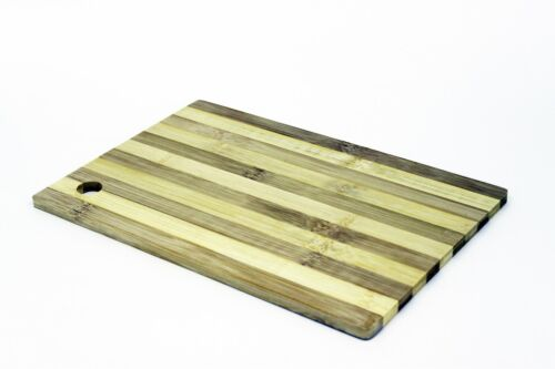 Details about  /Large Eco-Friendly Bamboo Wood Wooden Chopping Cutting Board Cheese Board Stripe