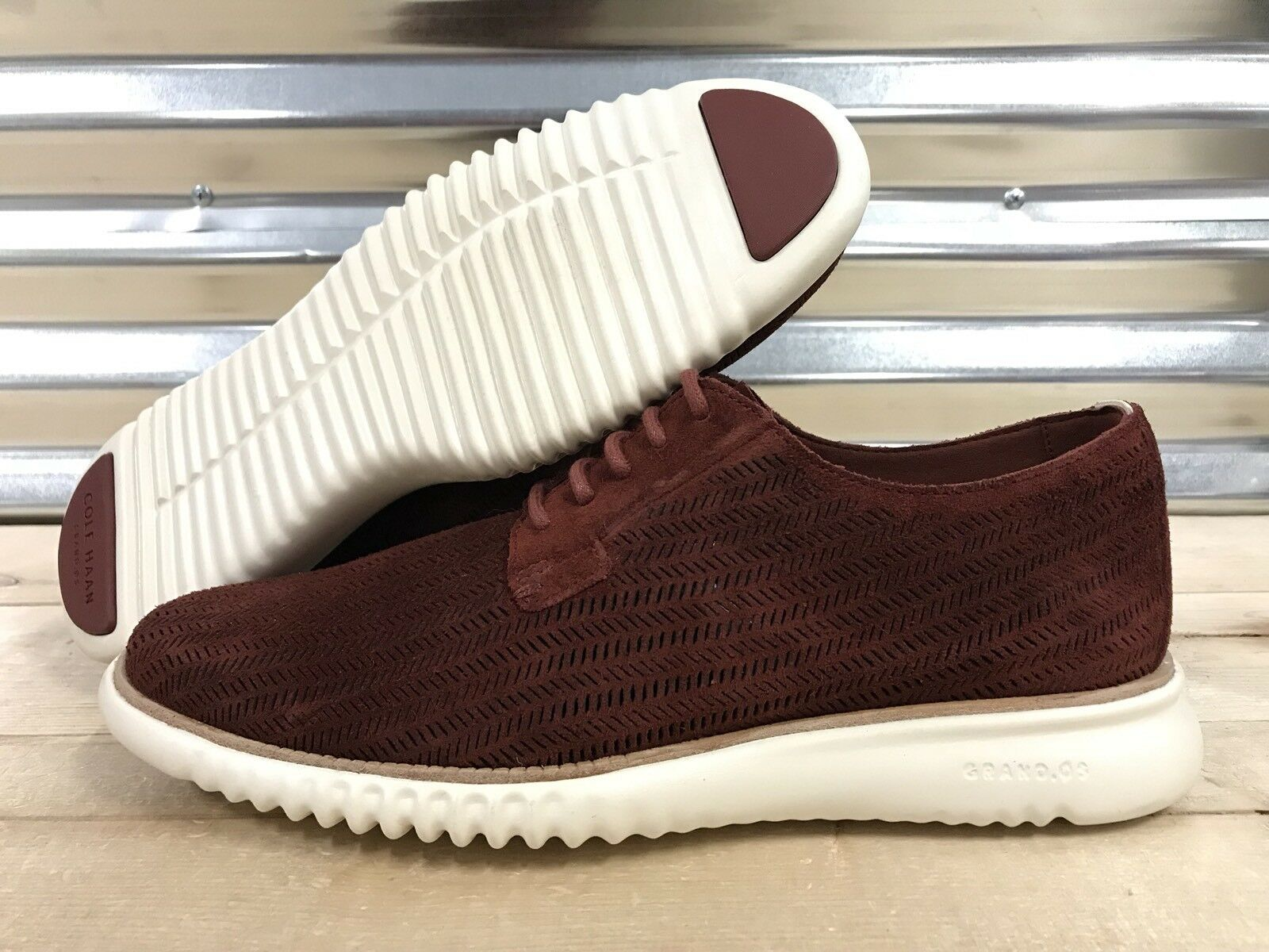 Zapatos De Vestir Cole Haan Haan Cole 2. Zerogrand 2.0 Rojo muestra de color blanco (C27338) f5b792