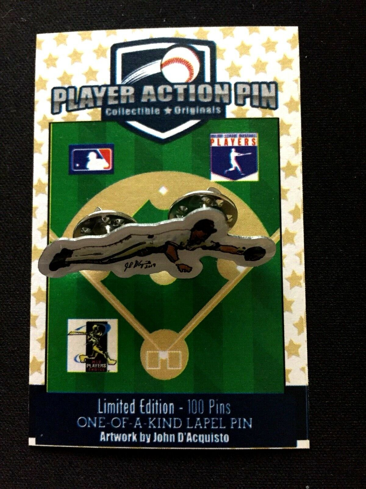 Cleveland Indians Omar Vizquel jersey lapel pin-Classic Collectible-Fan Favorite