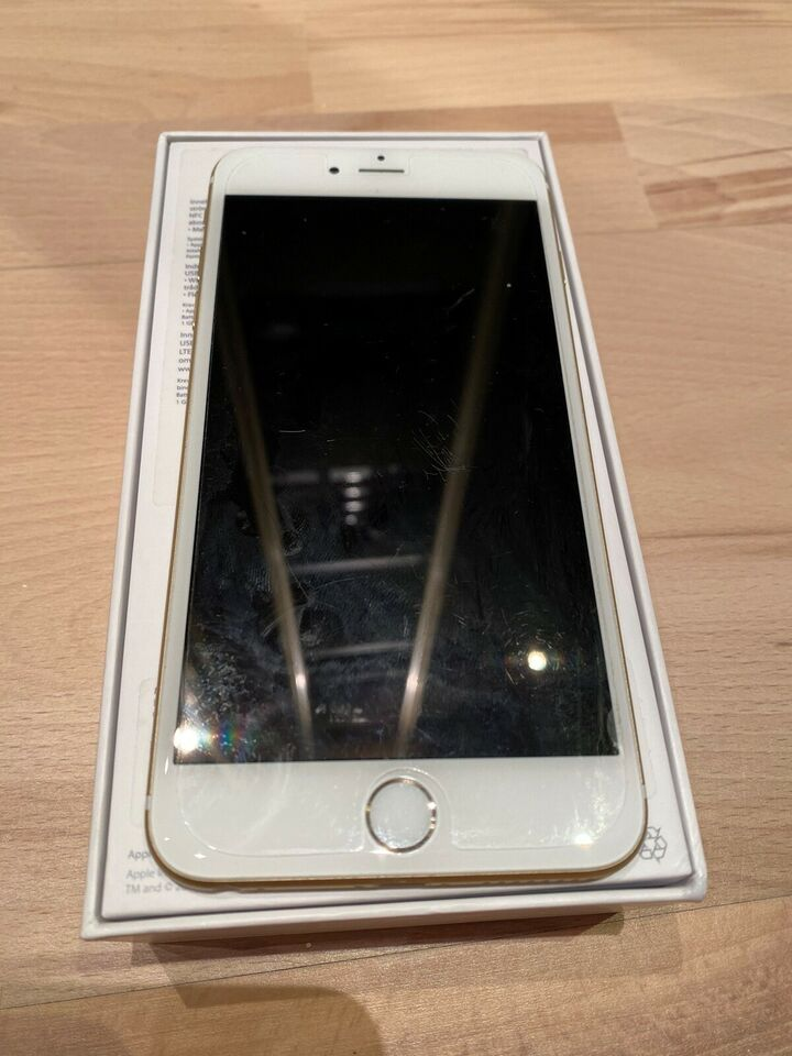 iPhone 6 Plus, 128 GB, guld