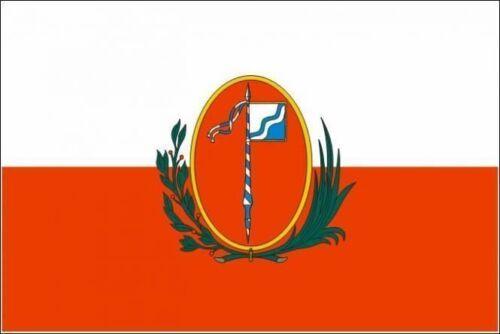 Aufkleber Miesbach Flagge Fahne 12 x 8 cm Autoaufkleber Sticker
