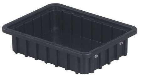 LEWISBINS DC1025 XL ESD Divider Box,10-7//8 x 2-1//2 In,Black