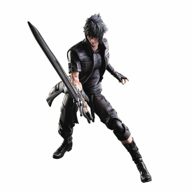 Officially Licensed Final Fantasy XV Noctis Lucis Caelum Play Arts Kai Figure