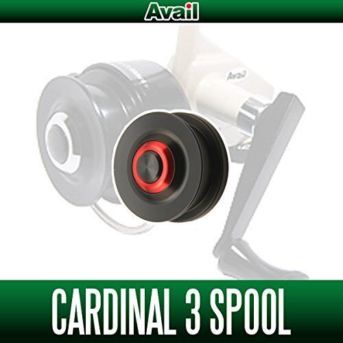 Avail ABU Cardinal 3 series Spool CD0590R RED