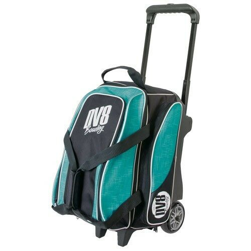 DV8 Circuit Double Roller 2 Ball Bowling Bag Teal