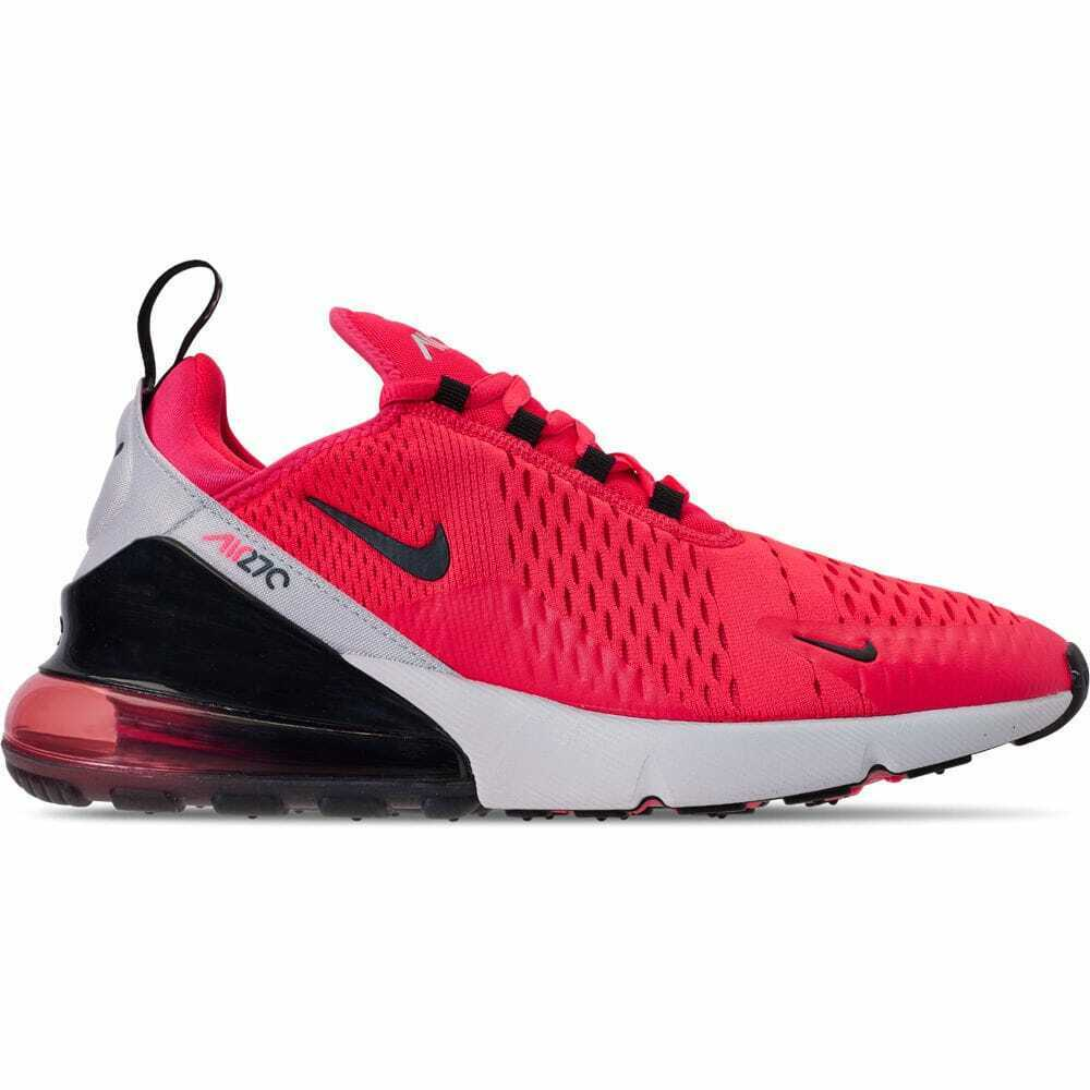 ca11934a84 Men's Nike Air Max 270 Casual shoes Red Orbit Black Vast Grey BV6078 600