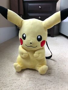 Pokemon Pikachu Plush Doll Backpack 16' Nintendo Game ...
