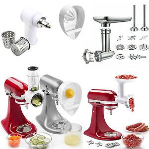 Meat-Grinder-Slicer-Shredder-Juicer-Attachment-For-KitchenAid-Stand-Mixer-NEW