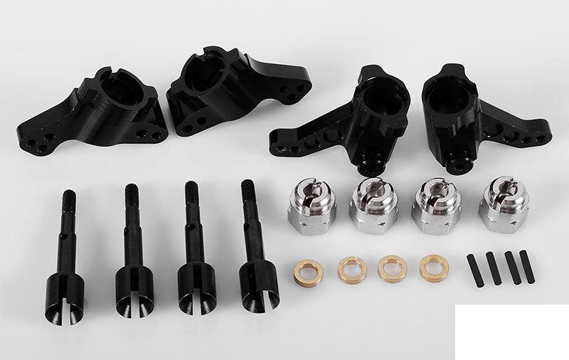 Completo Prossoator Pista  Montaggio Kit per Hpi WR8 Flux Z-S0796 RC4WD Wr 8 4  goditi il 50% di sconto