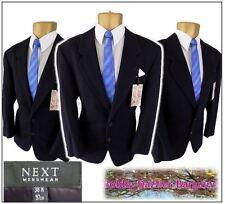 """Next Mans Wool Rich car Jacket Blazer Chest 38""""R Navy Blue Excellent condition"""