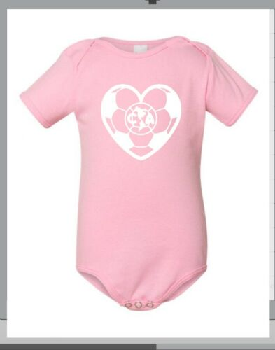 new america aguilas baby newborn  jump suit pink