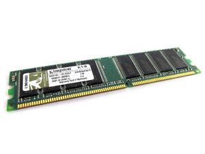 Kingston PC3200 DDR 400 1GB DIMM 400 MHz PC 3200 DDR SDRAM Memory