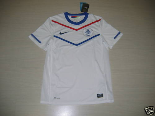 0622 NIKE HOLLAND SIZE S TSHIRT COMPETITION DUTCH AWAY MATCH JERSEY SHIRT