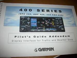 gps 400 gnc 420 gns 430 traffic weather pilot s guide ebay rh ebay com Garmin GPS Systems Manuals Garmin GPS Systems Manuals