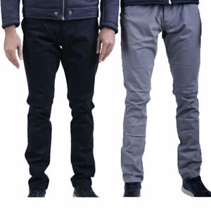ARMANI-Jeans-6X6-P15-6-nkfz-Casual-da-Uomo-Pantaloni-Chino-Pantaloni-ELASTICI-SLIM-FIT