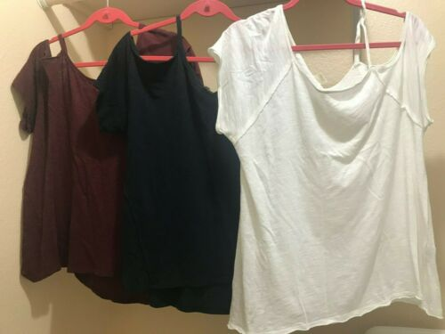 Free People We The Free Lot 3 Tops Shirts XS Cold