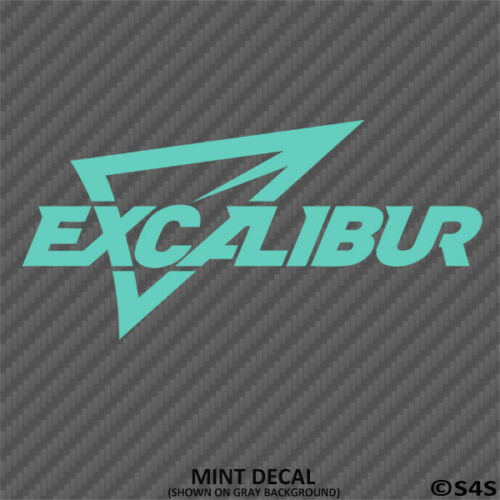 Choose Color Excalibur Crossbows Hunting//Outdoor Sports Decal Sticker
