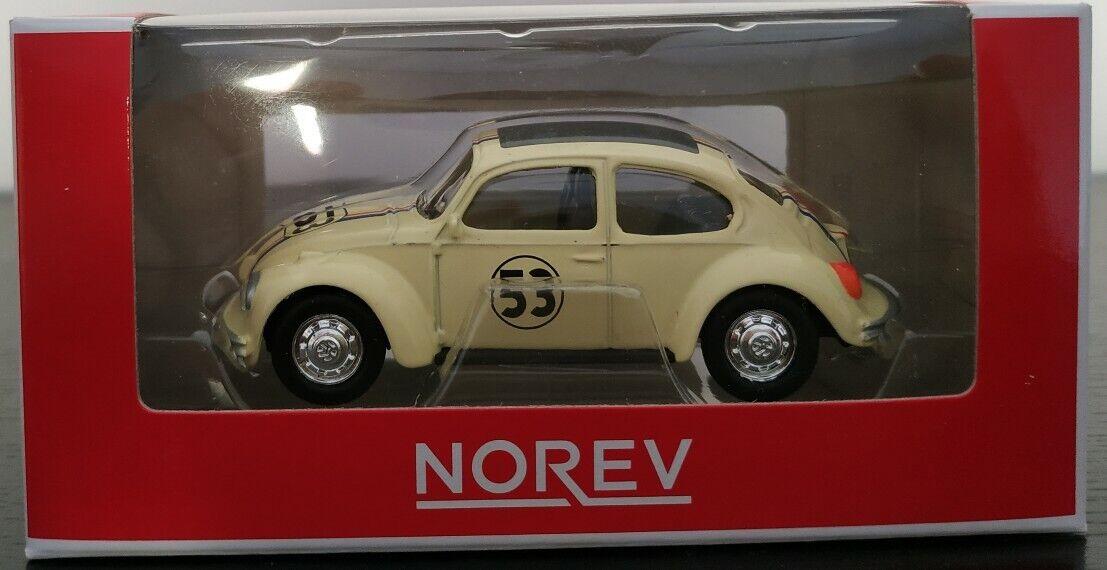 1 64 VW ESAutoABAJO Beetle \3553; 53 HERBIE NOREV ESCALA DIESCAST