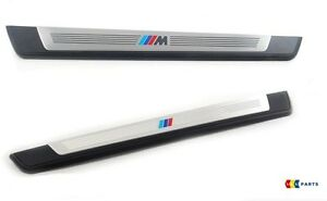 Nuevo-Original-BMW-Z4-serie-E89-09-16-Puerta-Entrada-Umbral-Tira-Set-Derecho-Izquierda