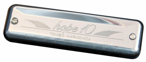 Tombo Harmonica Hope 10 hole Diatonic Ab