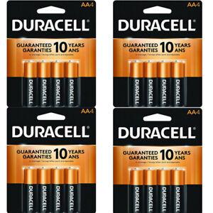 16 x Duracell AA Coppertop Alkaline Batteries