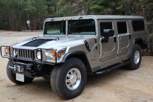 2001 AM General Hummer H1, Diesel, ONLY 21,948 KM!