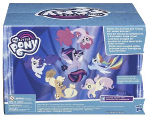 Hasbro My Little Pony Seapony Collection Pack Fantasy Scene NEW Pinkie Pie More