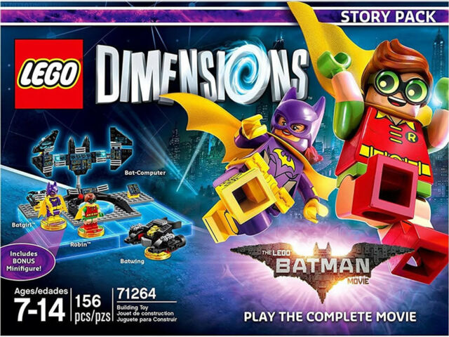 Lego Dimensions Batman Movie Story Pack 71264 Brand For Sale Online Ebay