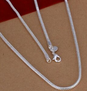 6mm-Herringbone-Necklace-18K-White-Gold-Plated-Italian-Chain-18-20-22-24-30-Inch