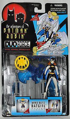 Action- & Spielfiguren Gut Batman & Robin Abenteuer Wind Blitz Batgirl Figur Duo Force Moc Kenner 1997 Up-To-Date-Styling