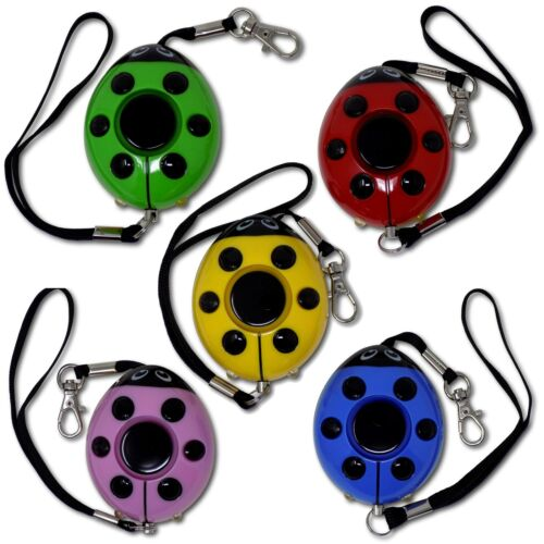 Minder Lady Bug Realistic Screaming Woman Personal Attack Rape Assault Alarm